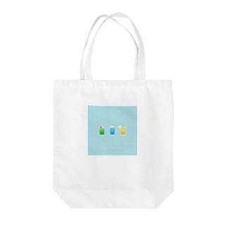 サマーソーダ Tote bags