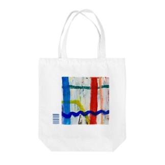 HIDE11window Tote bags