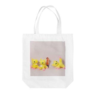 gyunyuyaの遊ぼう Tote bags