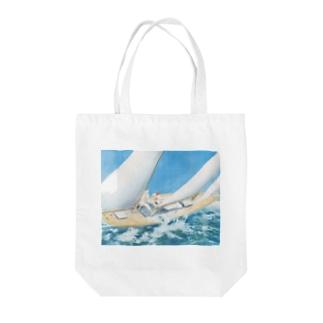 ルイ・イカール《ヨットレース》 Tote Bag