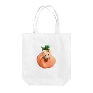 柿になった椿さん ハムスター かきつばき Tote bags