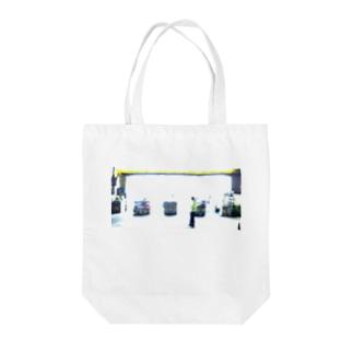 夜のドラッグストア Tote bags