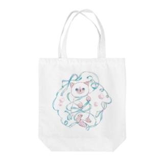 ぐるぐる子猫 Tote Bag