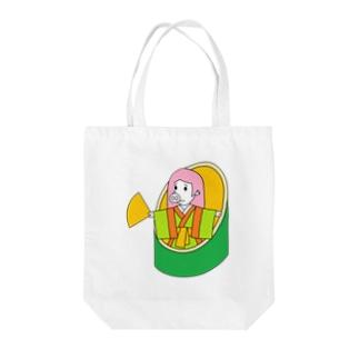 武竹取物語(ぶたけとりものがたり) Tote Bag