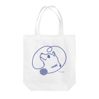 毛糸_わんこ Tote Bag