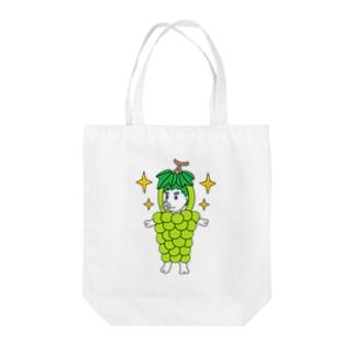 プリンス・オブ・シャイニングマスカットン Tote Bag