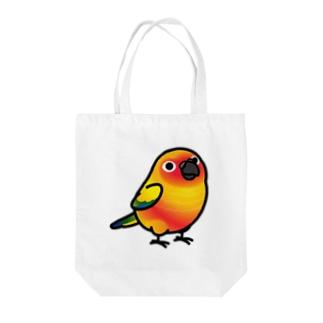 Chubby Bird コガネメキシコインコ Tote bags
