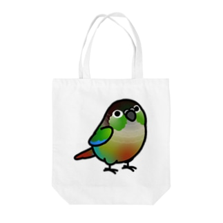 Chubby Bird ウロコインコ Tote bags