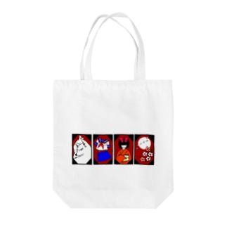 花札モチーフグッズ【改】 Tote bags