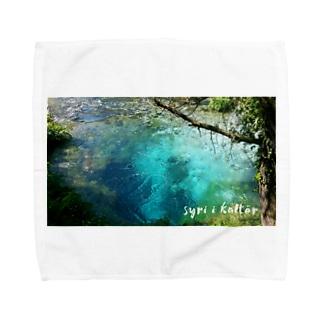 syri i kaltër(シリカルタ) Towel handkerchiefs