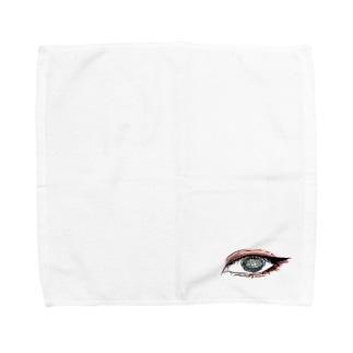 三白眼 Towel handkerchiefs