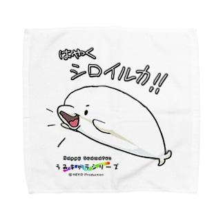 うみキャラシリーズ Towel handkerchiefs