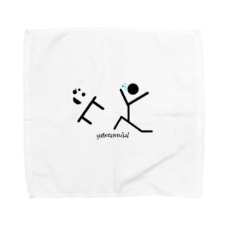 投げ出す勇気 Towel handkerchiefs