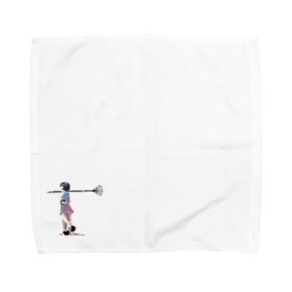 熊手狂乱 Towel handkerchiefs