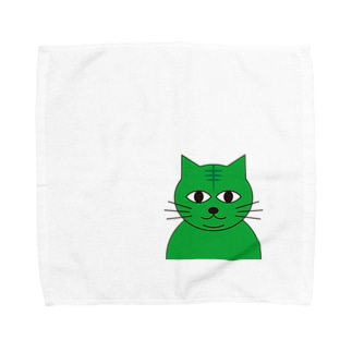 みどりねこ Towel handkerchiefs