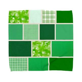 グリーンピース Towel handkerchiefs