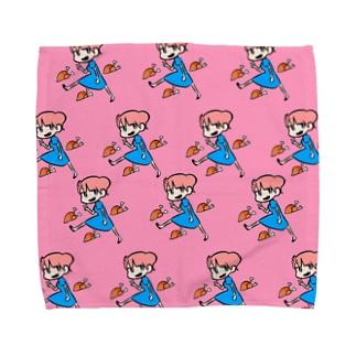 いえー Towel handkerchiefs
