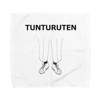ユーモアデザイン「つんつるてん」 Towel handkerchiefs