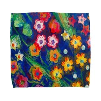 花-青 Towel handkerchiefs