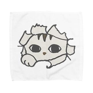 トッパ猫 Towel handkerchiefs