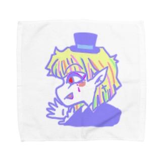 【おちゃめな天使と過保護な悪魔】ソネット Towel handkerchiefs