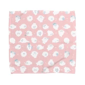 まこふちゃんがいっぱい Towel handkerchiefs