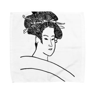 JUNSEN(純仙)雪乃嬢小梅 Towel handkerchiefs