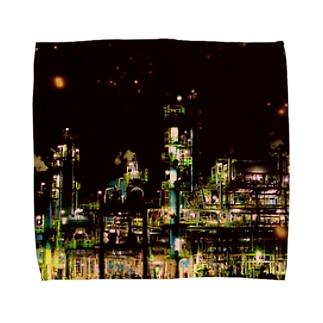 工場moe!(火花) Towel handkerchiefs