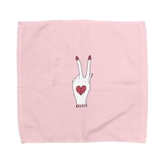 らぶをこわす Towel handkerchiefs