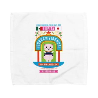 XochimikKids X マリオ・フローレス Towel handkerchiefs