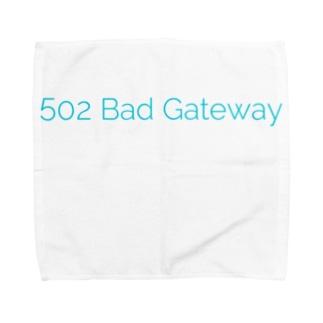 502 Bad Gateway_CC タオルハンカチ
