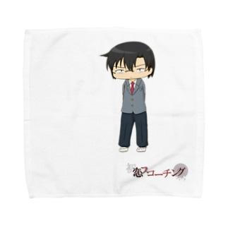 SDクソメガネ制服(初恋スコーチング) Towel handkerchiefs