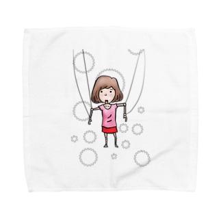 マリコネット Towel handkerchiefs