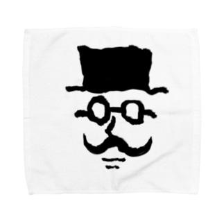 ヒゲオヤジ Towel handkerchiefs