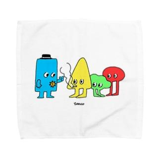カタチ3 Towel handkerchiefs