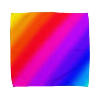虹 Towel handkerchiefs