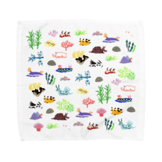 瀨頭 陽のうみうしとなかまたち Towel handkerchiefs