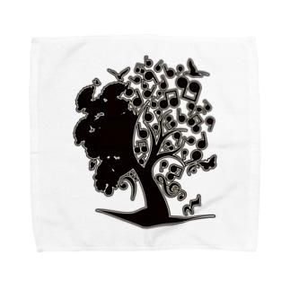 The_Music_Tree タオルハンカチ