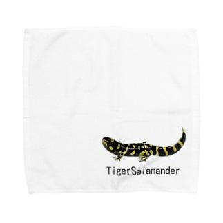 タイガーサラマンダー Towel handkerchiefs