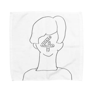 4のタオル Towel handkerchiefs