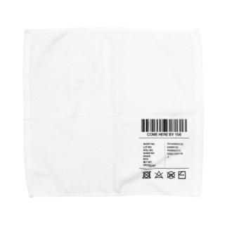 商品ラベル ハンカチ Towel handkerchiefs