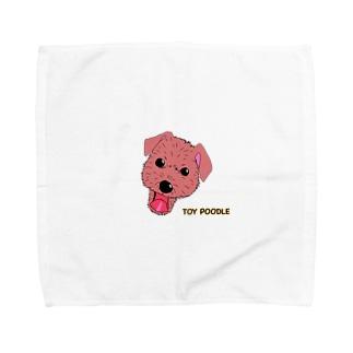 プーちゃんスマイル Towel handkerchiefs