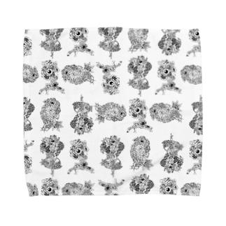 オリジナルイラストグッズ Towel handkerchiefs