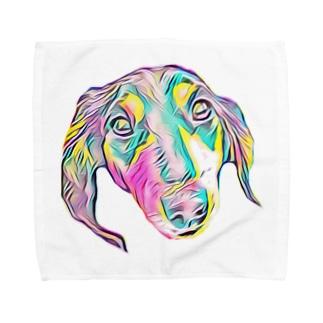 Ms.後藤 Towel handkerchiefs