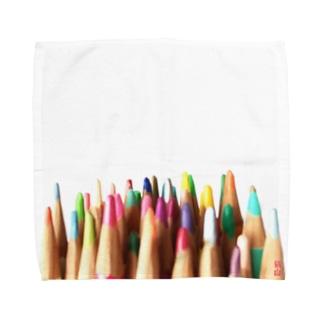 色鉛筆 Towel handkerchiefs