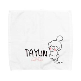 ジャンプジャンプ Towel handkerchiefs