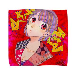 雑音 Towel handkerchiefs