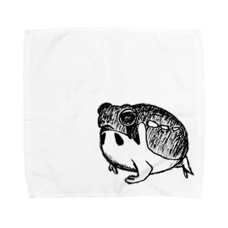 フクラガエル Towel handkerchiefs