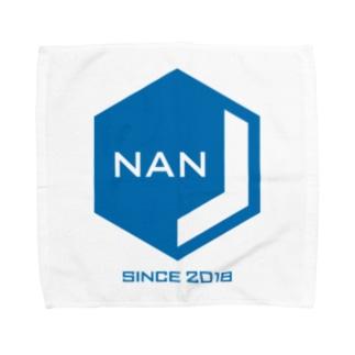 NANJCOIN公式ロゴ入り タオルハンカチ