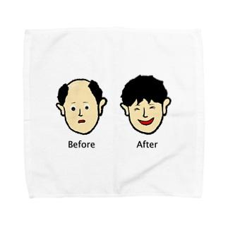 増毛 Towel handkerchiefs